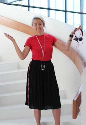 Eveliina Lönnberg vaihtoi LähiTapiolassa korvausneuvojasta sometyöntekijäksi.